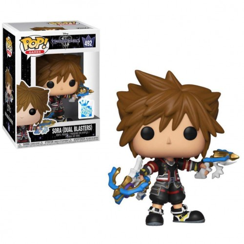 Sora Dual Blasters - Funko Pop Games-Kingdom Hearts-492