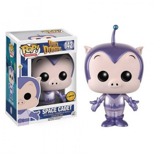 Funko Pop Space Cadet Chase - Metálico-Duck Dodgers-142