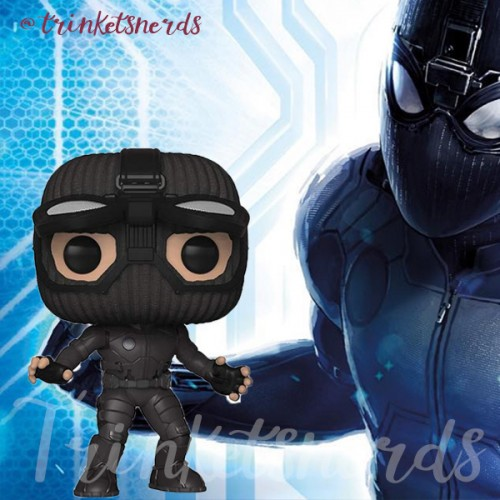 Funko Pop! Spider Man Stealth Suit, Googles Up - Only At - Spider Man Far From Home - #476