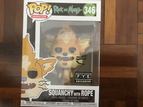 Funko Pop Squanchy With Robe Rick And Morty Fye Exclusive Com Protetor - Rick and Morty - #346