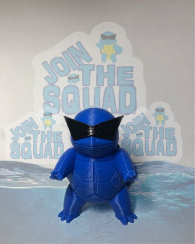 Action Figures Squirtle Esquadrão Squirtle-Pokemon-