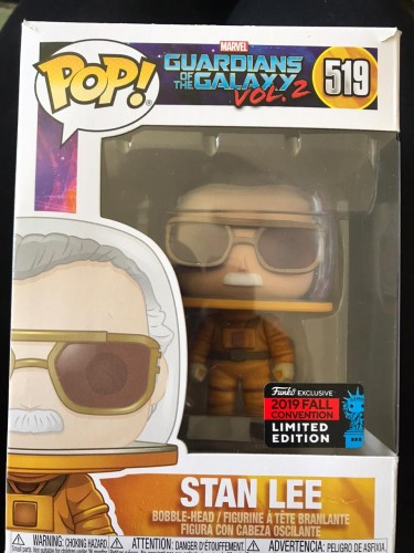 Funko Pop! Marvel Stan Lee - 2019 Fall Convention Limited Edition - Guardiões da Galáxia Vol 2 - #519