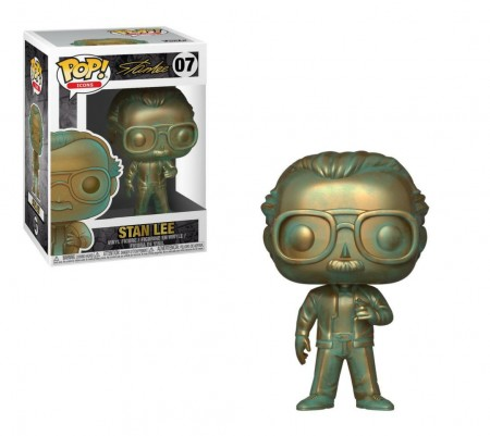 Funko Pop Stan Lee (patina) - Icons - #7