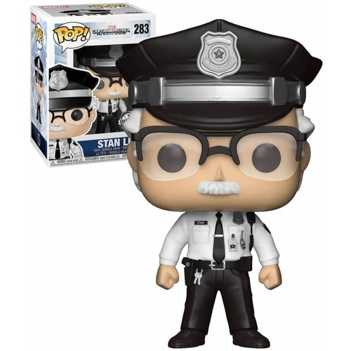 Funko Pop Stan Lee (caixa levemente amassada) - Marvel Studios - #283
