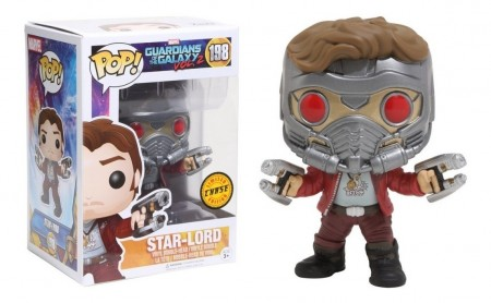 Funko Pop Star Lord - Chase-Guardiões Da Galáxia-198