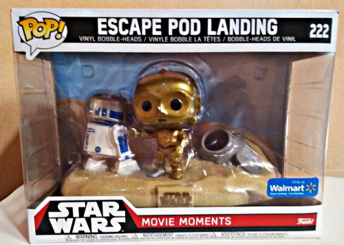 Funko Pop Star Wars - Movie Moments Escape Po Landing-Stars Wars-1