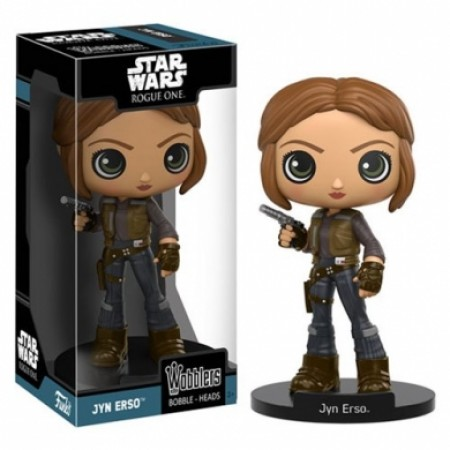 Action Figures Star Wars Rogue One Jyn Erso Bobble Head-Stars Wars-