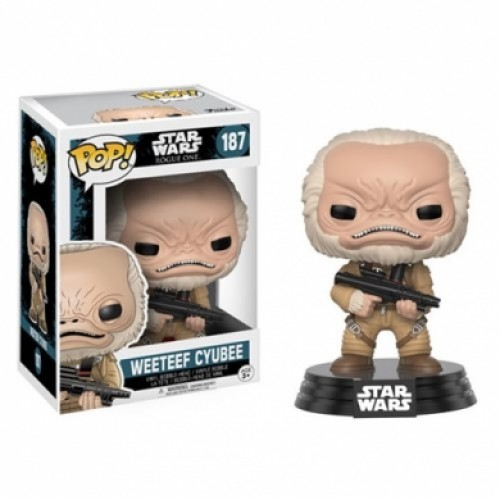 Star Wars Rogue One Weeteef Cyubee Funko Pop!-STAR WARS ROGUE ONE-187