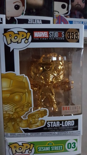 Funko Star Lord Gold Box Lunch-Marvel Studios-353