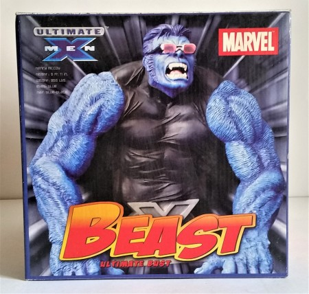 Action Figures Statue Marvel Ultimate X-men Bust Beast Fera-Marvel Ultimate X-Men-