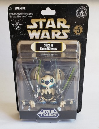 Action Figures Stich As General Grievous-Stars Wars-