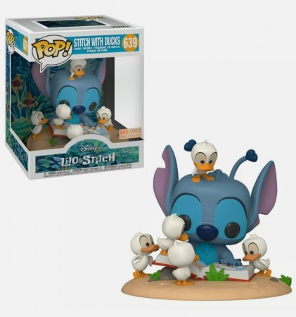 Funko Pop Stitch With Ducks Excl. Boxlunch-Lilo & Stitch-639
