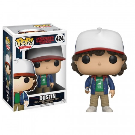 Stranger Things - Dustin With Compass #424 Funko Pop-Stranger Things-424