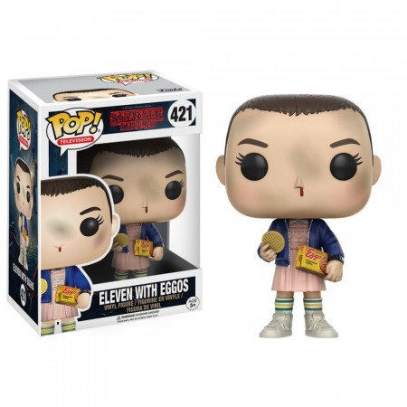 Stranger Things - Eleven With Eggos #421 Funko Pop-Stranger Things-421