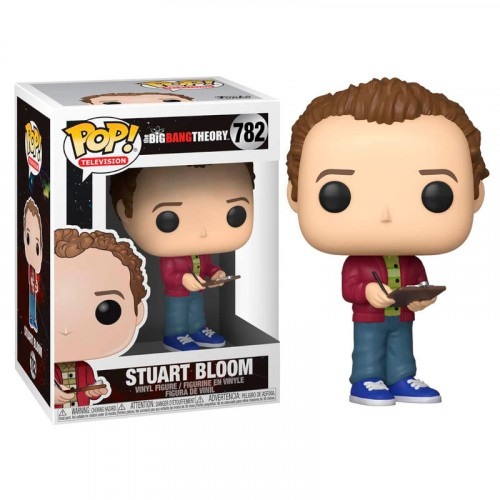 Funko Pop! TBBT: Stuart Bloom-The Bing Bang Theory-782