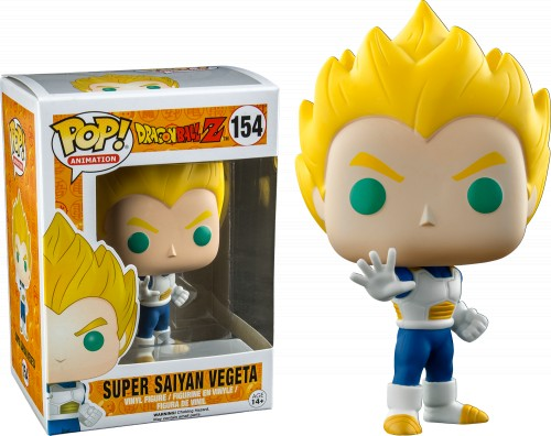 Funko Super Saiyan Vegeta - Raro-Dragon Ball Z-154