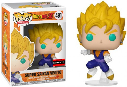 Funko Super Saiyan Vegito - dragon ball Z - #491