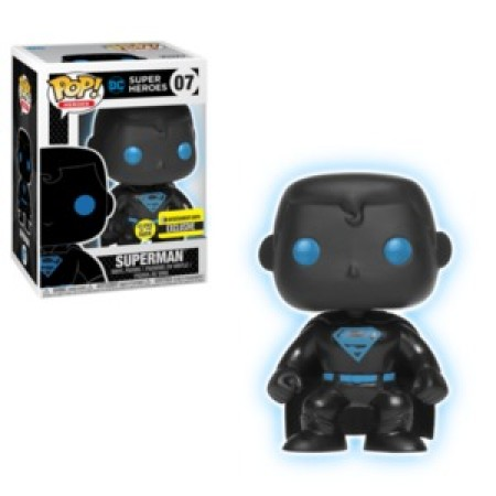 Funko Pop Superman (silhouette) Gitd-DC Super Heroes-7