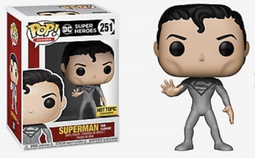 Superman From Flashpoint - Funko Pop! Heroes Hot Topic-Superman-251