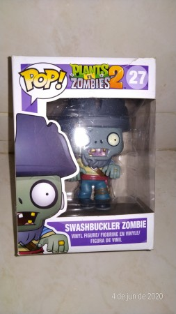 Funko Pop Swashbucler-Plants Vs Zombies-27
