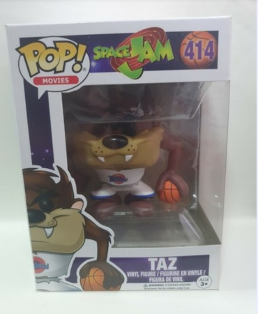 Funko Pop Taz (space Jam)-Space Jam-414