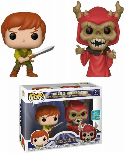 Taran & Horned King The Black Cauldron Funko Pop! Pack Limited-The Black Cauldron-2