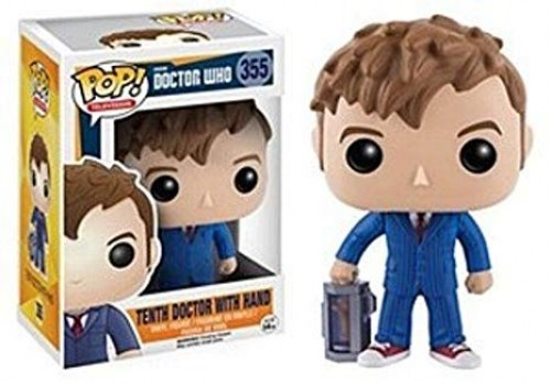 Funko Tenth Doctor With Hand-Doctor Who-355