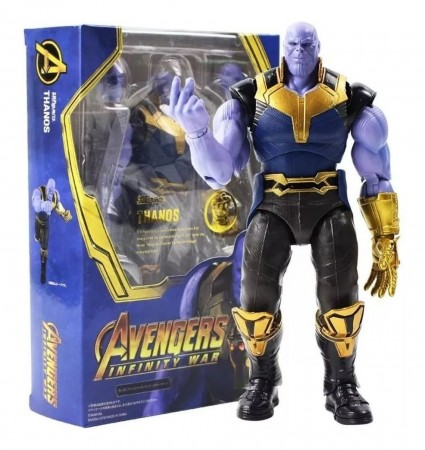 Action Figures Thanos - S.h.figuarts - Original-Avengers: Infinity War-