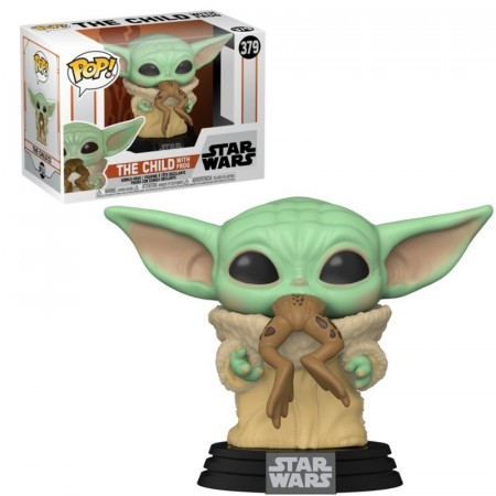 Funko Pop The Child With Frog - Baby Yoda-Star Wars Mandalorian-379