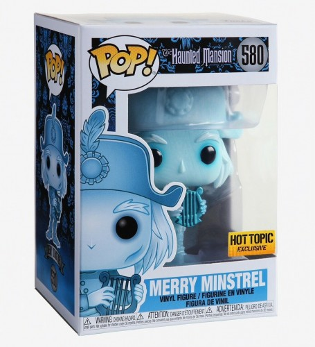 The Haunted Mansion - Merry Minstrel - Funko Pop! Exclusivo Hot Topic-The Haunted Mansion-580