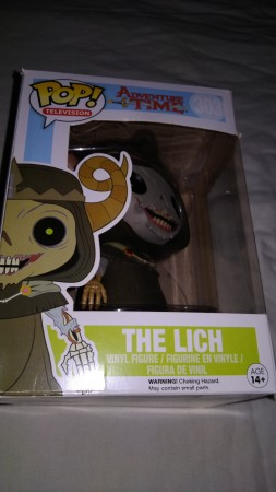 Funko Pop The Lich Raro-adventure time-303