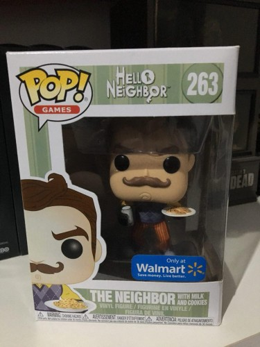 Funko The Neighbor With Milk And Cookies-Hello Neighbor-263