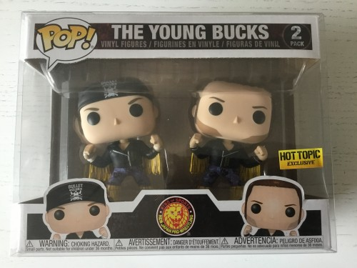 Funko The Young Bucks 2 Pack Exclusive Com Protetor Wwe Wrestling - WWE - #2