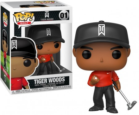 Funko Pop Tiger Woods-Tiger Woods-1