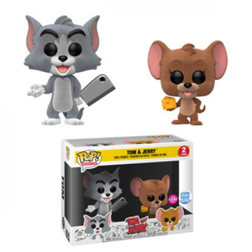Tom & Jerry (flocked) (2-pack) Exclusivo Funko Shop-Hanna Barbera-2