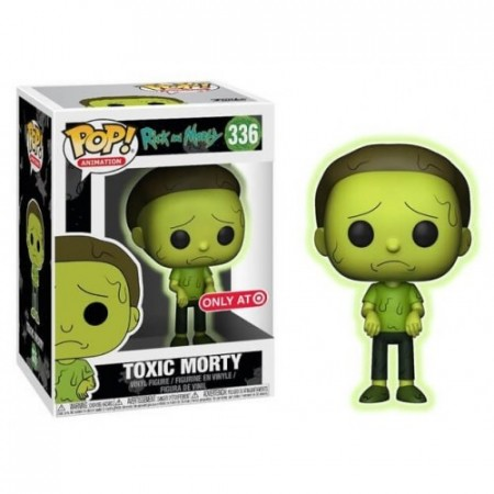 Funko Pop Toxic Morty-Rick And Morty-336