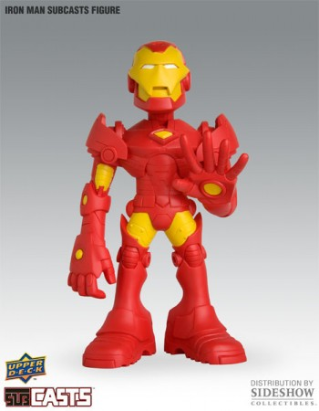 Action Figures Toyart Upper Deck Marvel X Tweeqim Subcasts Iron Man-Homem de Ferro-