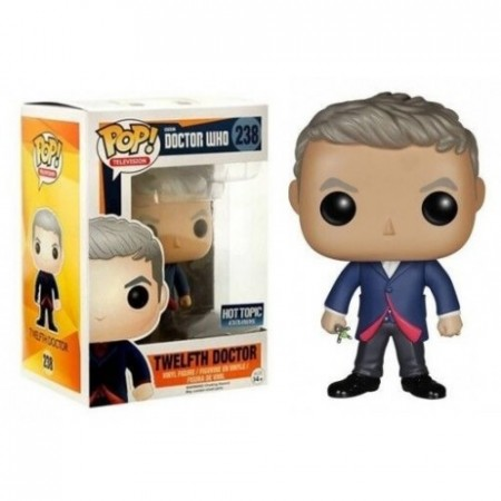 Twelfth Doctor #238 Funko Pop Original Doctor Who Hot Topic Exclusivo-Doctor Who-238