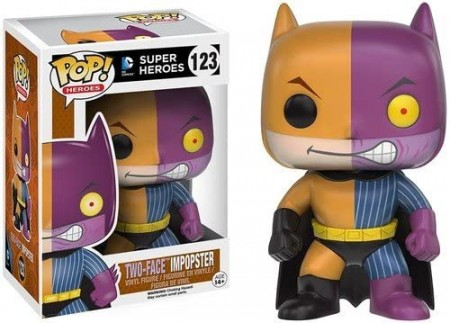 Funko Pop Two-face Imposter (caixa Danificada)-DC Super Heroes-123
