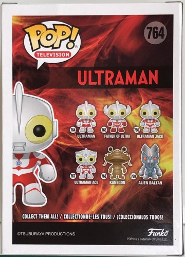 Ultraman - Glows In The Dark - Funko Pop! Sdcc 2019 - ultraman - #764