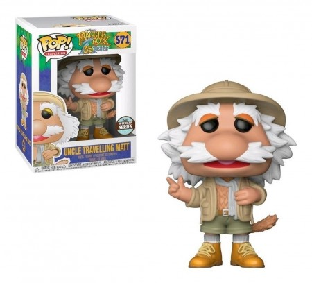 Funko Pop Uncle Travelling Matt-Traggle Rock 35 Years-571