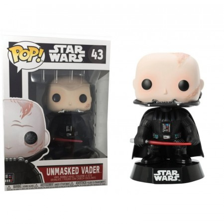 Funko Pop!: Star Wars - Unmasked Vader-Star Wars-43