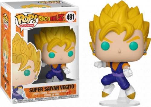 Funko Vegito-dragon ball Z-491
