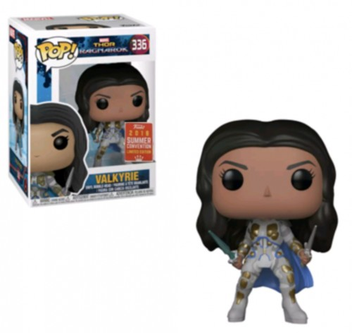 Funko Pop Valkyrie Battle Outfit Sdcc2018 - Marvel Studios - #336