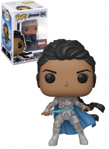 Funko Pop!  Marvel Avengers: Valkyrie Exclusive Collector Corps - Avengers Endgame - #483