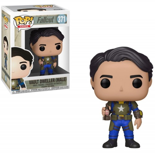 Funko Pop Vault Dweller (male) - Fallout - #371