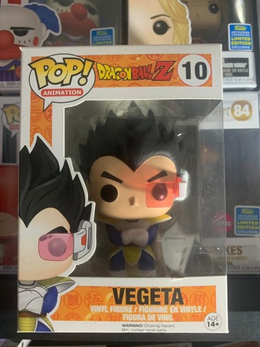 Funko Pop Vegeta-dragon ball Z-10