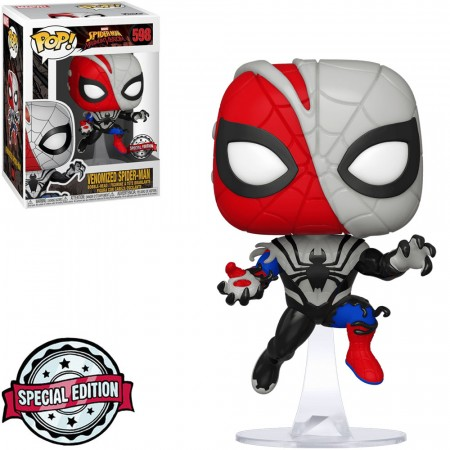 Funko Pop Venomized Spider Man-Marvel Studios-598
