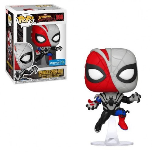 Funko Pop Venomized Spider-man Walmart-Venom-598