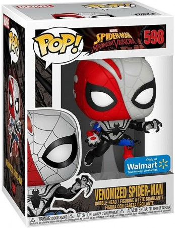 Venomized Spiderman Maximum Venom Marvel Funko Pop! Exclusivo Walmart-Spider-man Maximun Venom-598